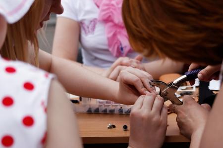 crafting: Primer de las mujeres la elaboraci�n de juntas