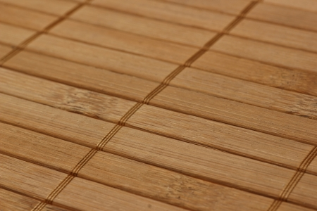 Bamboo board. Diagonal pattern. photo