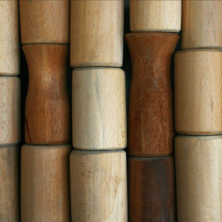 balsa: The unique samples of cylindrical forms, made of solid wood .