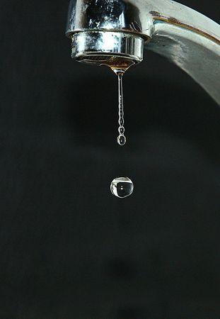 a drop Stock Photo