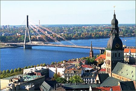 Riga, capital of Latvia photo