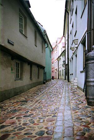 Riga, old street