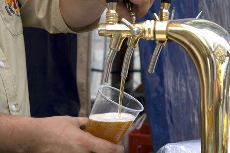 Beer in a pub  Banco de Imagens