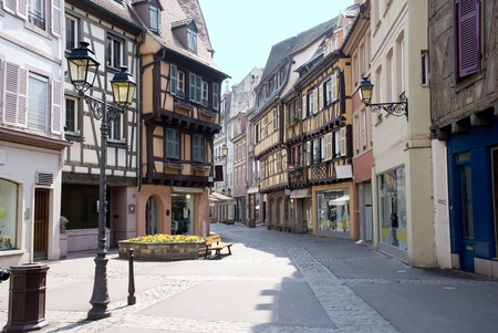 France, Colmar, medieval city in the centre of Europe Stock Photo