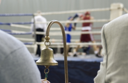 Boxing  Refereeing of sports competitions on boxing
