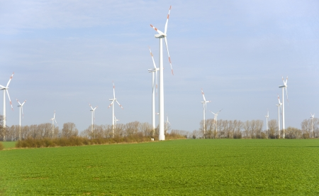Europe  Wind generators-alternative sources of electricity  photo