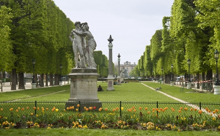 Europe, France, Paris, Luxembourg garden  Stock Photo