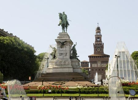 garibaldi: Italy, Milan. Giuseppe Garibaldi Editorial