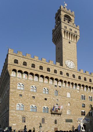 translated: Florence.  Palazzo Vecchio which translated from Italian means