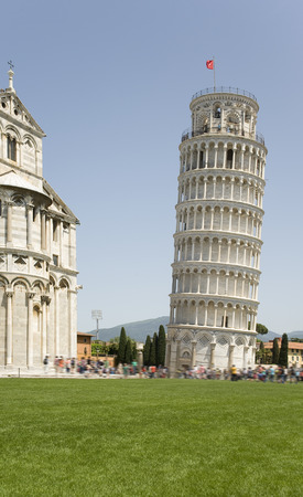 deviation: Italy Pisa. The famous Leaning Tower and the Church