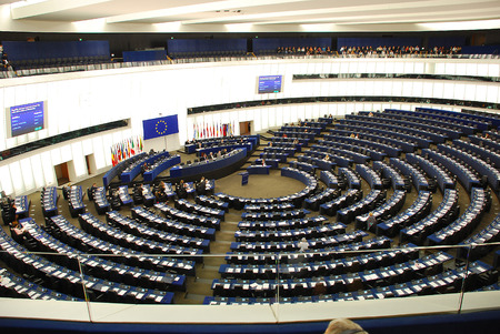Europa, France, session in an EuroParliament building in Strasbourg