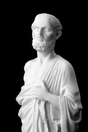 Hippocrates was een oude Griekse arts en wordt beschouwd als een van de meest prominente figuren in de geschiedenis van de geneeskunde. (460-377 vC)