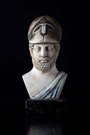 "statesman: Pericles was Ancient Greek statesman , orator and general of the 5th century BC , known as the  Golden Age "". (495-429) BC"