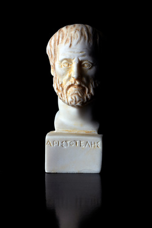 Aristoteles was an ancient Greek philosopher, His works refer to multiple kinds of sciences, such as physics, biology , zoology, metaphysics. He classified among the top global celebrity of all time. (384 -322 BC) photo