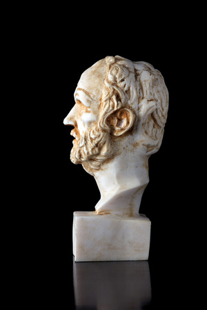 ancient philosophy: Dimokritos was an ancient Greek philosopher, The most popular writings is about Atomic theory and Cosmogony. (460-370) BC