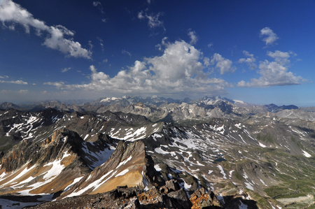 extensive: Alps, region of France and Italy. The Alps are the highest and most extensive mountain range system that lies entirely in Europe