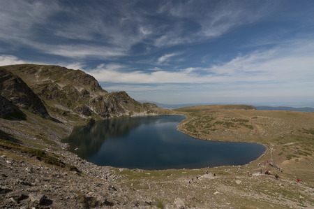 Seven Rila Lakes, Bulgaria. The Seven Rila Lakes are a group of glacial lakes, situated in the northwestern Rila Mountains in Bulgaria.