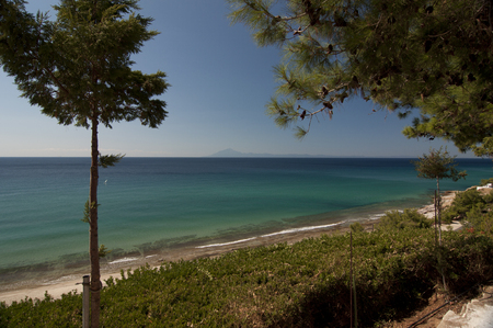 geographically: Greece. Thasos. Thasos or Thassos is a Greek island, geographically part of the North Aegean Sea.