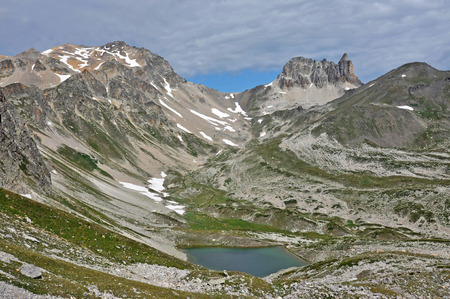 Alps, region of France and Italy. The Alps are the highest and most extensive mountain range system that lies entirely in Europe