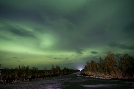 northern light: Northern lights or polar lights. An aurora is a natural light display in the sky, predominantly seen in the high latitude Arctic and Antarctic regions.