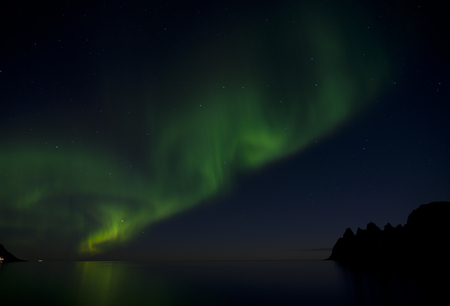 polar light: Northern lights or polar lights. An aurora is a natural light display in the sky, predominantly seen in the high latitude Arctic and Antarctic regions.