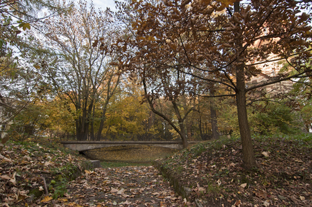 lemberg: Lviv. Ukraine. Stryjskyj Park. Stryjskyj Park is one of the oldest and most beautiful parks in Lviv.