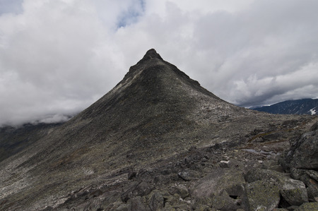 Kirkja mountain, Jotunheimen national park, Norway