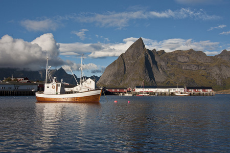 Moskenes / Moskenes is a small town in the municipality of Moskenes in Nordland county, Norway.