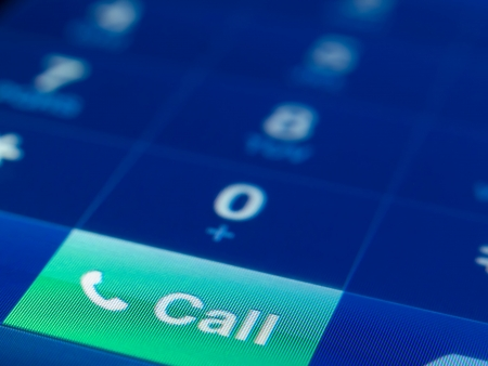 mobile phone keypad closeup, focus on call button, for communication,call service,calling themes