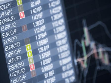 handel: Devisenhandel, Closeup und shallow DOF, f�r Forex, Lager Markt und anderen Finanz-Themen
