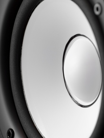 Speaker closeup , for audio related themes