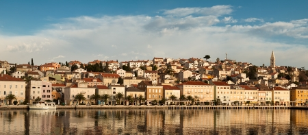 Town Mali Losinj , panorama , for travel ,vacation themes,Croatia,Adriatic sea 版權商用圖片
