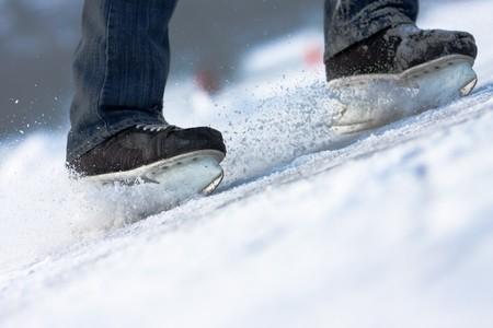 Aggressivo rottura... pattini sul ghiaccio