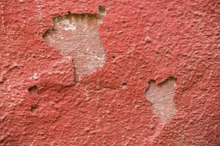 Detail of a red plaster partially peeling off Stock Photo - 17224130