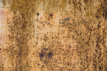 Wide abstract old brown rusty grunge texture photo