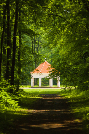Fairy tale summer house belonging to Milotice castle, Czech repoiblic