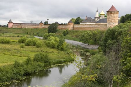 Suzdal. City of the Golden Ring of Russia. Spaso - Evfimevsky monastery. photo
