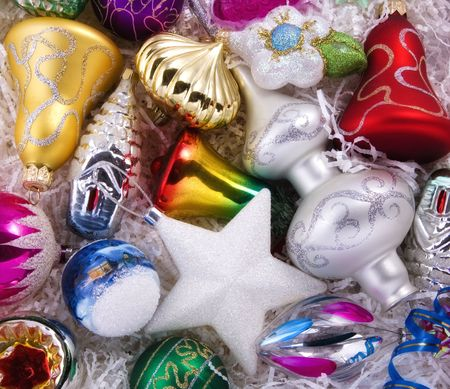 Set of christmas decorations Stock Photo - 4024239