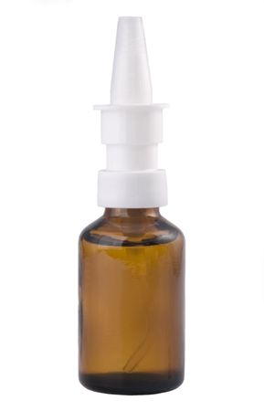 Glas-Spray-Container f�r Medizin