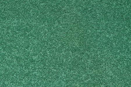 Struktur von einem gr�nen Teppich mit kurzen Stapel.