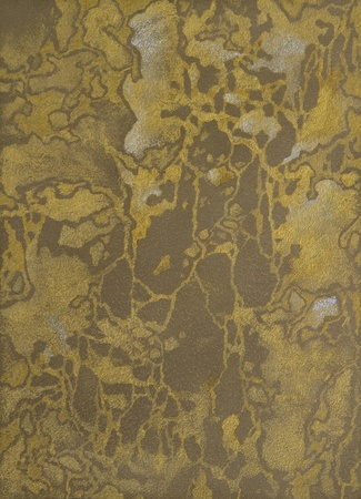 texture of a cement wall covered metallic paint, with gold strokes. Stock Photo - 8979342