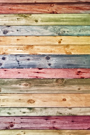 painted wood: vintage wooden planks wall background