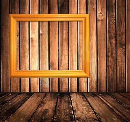 vintage wooden interior photo