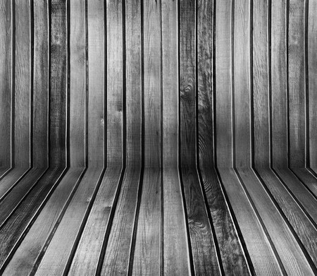 black and white vintage wooden interior