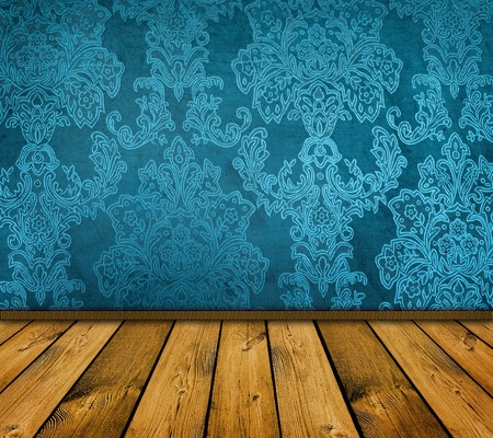 sharp blue vintage interior - similar images available Stock Photo