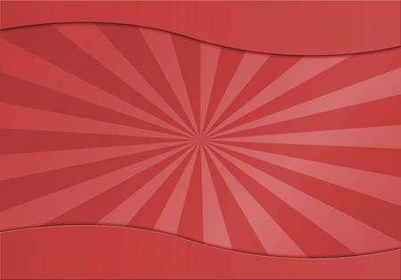 abstarct red sunbeam digital background Stock Photo - 8122858
