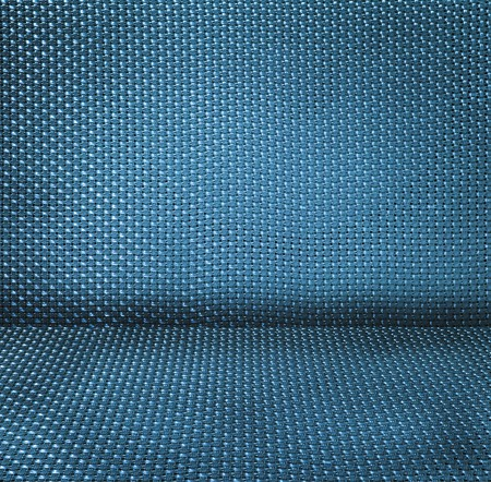 blue wicker textured background Stock Photo