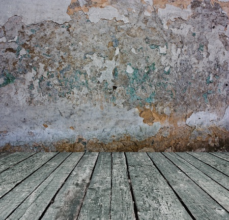 close up shot of grunge concrete wall Stock Photo - 8468391