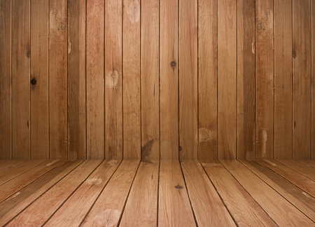 vintage brown wooden planks interior Stock Photo