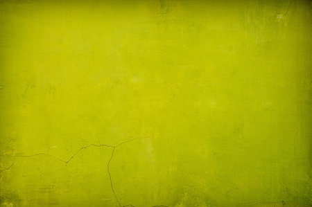 green wall: grungy green vintage concrete background with shadows added Stock Photo